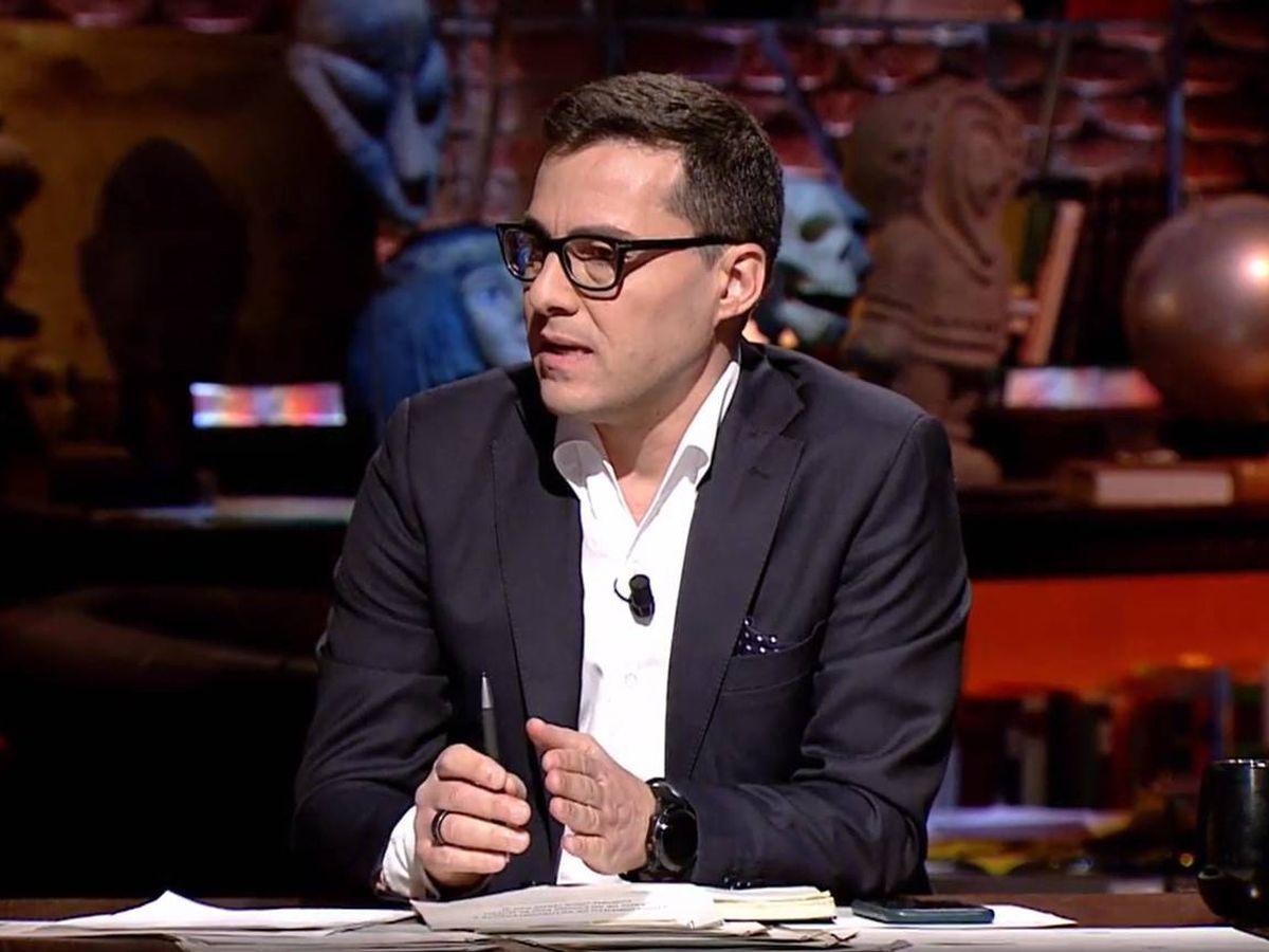 Foto: Pablo Fuente, en 'Cuarto milenio'. (Mediaset)