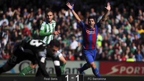 Empate fantasma entre Betis y Barcelona tras un grave error arbitral