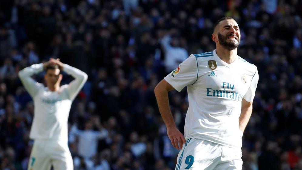 Foto: Benzema tuvo la ocasión más clara del Real Madrid. (Reuters)