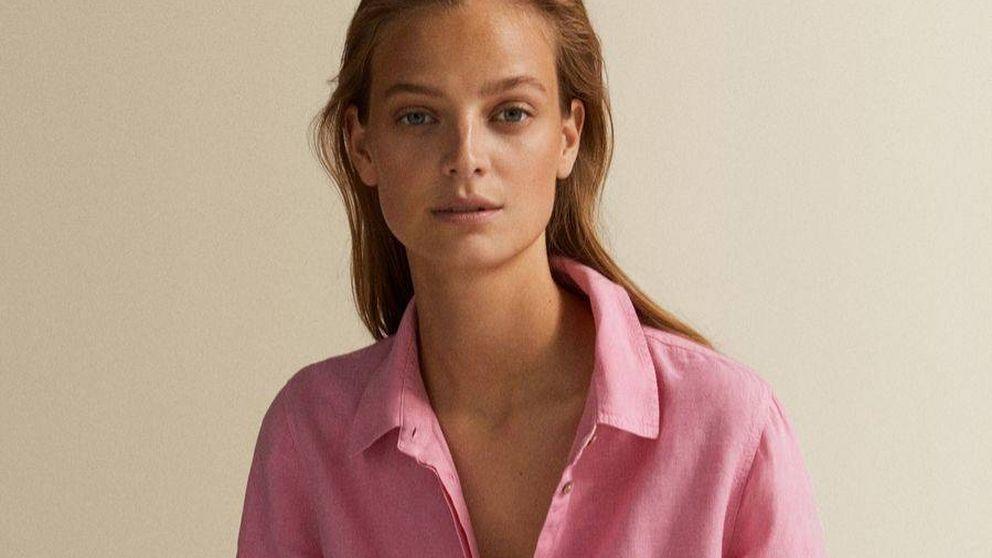 Massimo Dutti tiene unas camisas preciosas de lino rebajadas a 30 euros que se quedarán sin stock muy pronto
