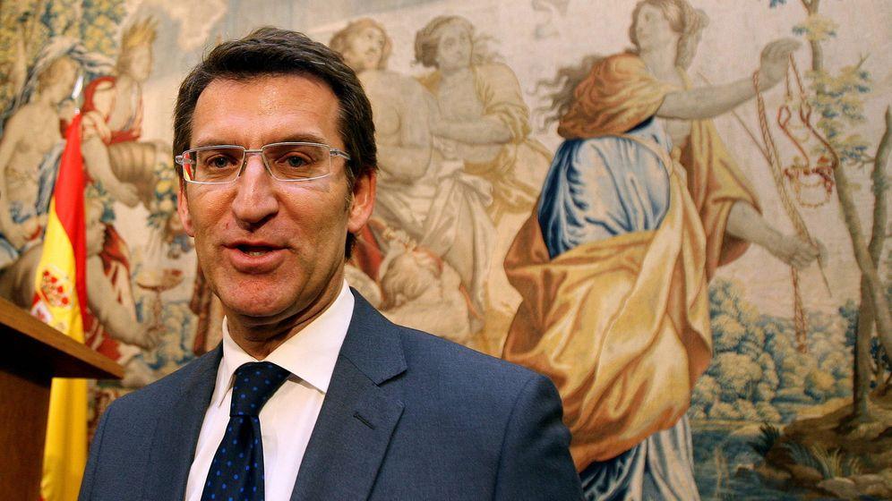 Foto: El presidente de Galicia y candidato a la reelección, Alberto Núñez Feijóo. (EFE)