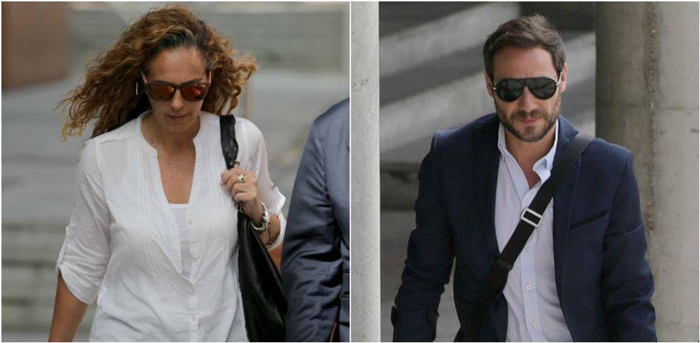 Foto: Antonio David Flores y Rocío Flores a su llegada a los juzgados. (Gtres)