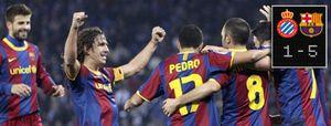 El Barcelona, imparable, le mete cinco hasta a su rival más temido