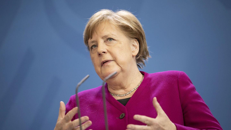 Angela Merkel, este lunes. (Reuters)