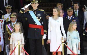 Todos los detalles de la proclamación de Felipe VI y Letizia
