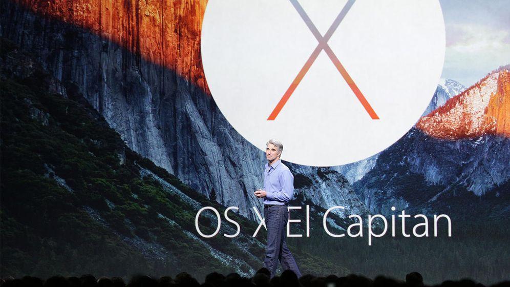 Foto: Craig Federighi presenta OS X El Capitan