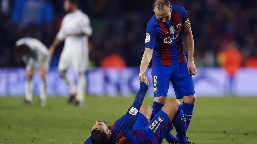 Media hora de Iniesta no basta para ganar, pero quita la razón a Luis Enrique