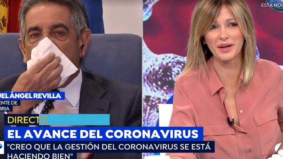 Miguel Ángel Revilla levanta sospechas en 'Espejo Público' por su estado de salud