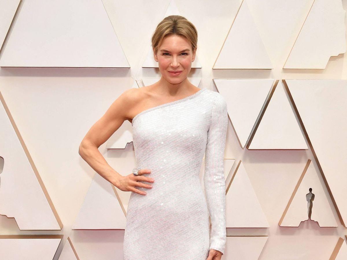 Foto:  Renée Zellweger, en los Oscar 2020. (Getty)