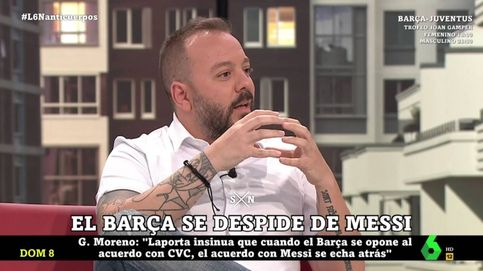Maestre atiza a Messi en 'La Sexta noche' por desaprovechar su gran oportunidad