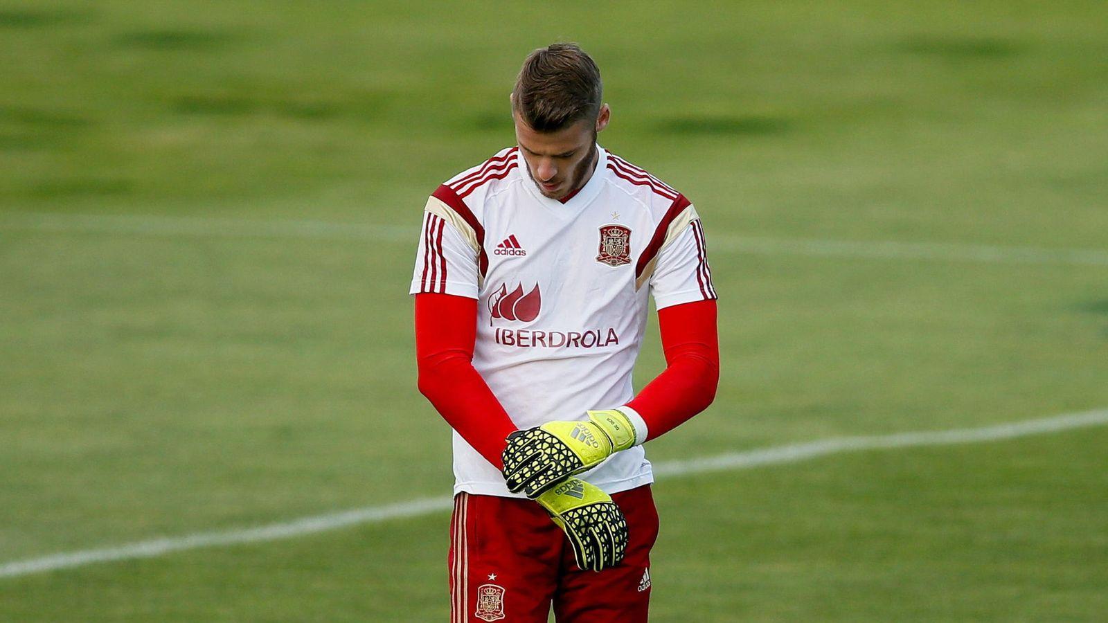 Foto: De Gea está concentrado con la selección española (Efe)