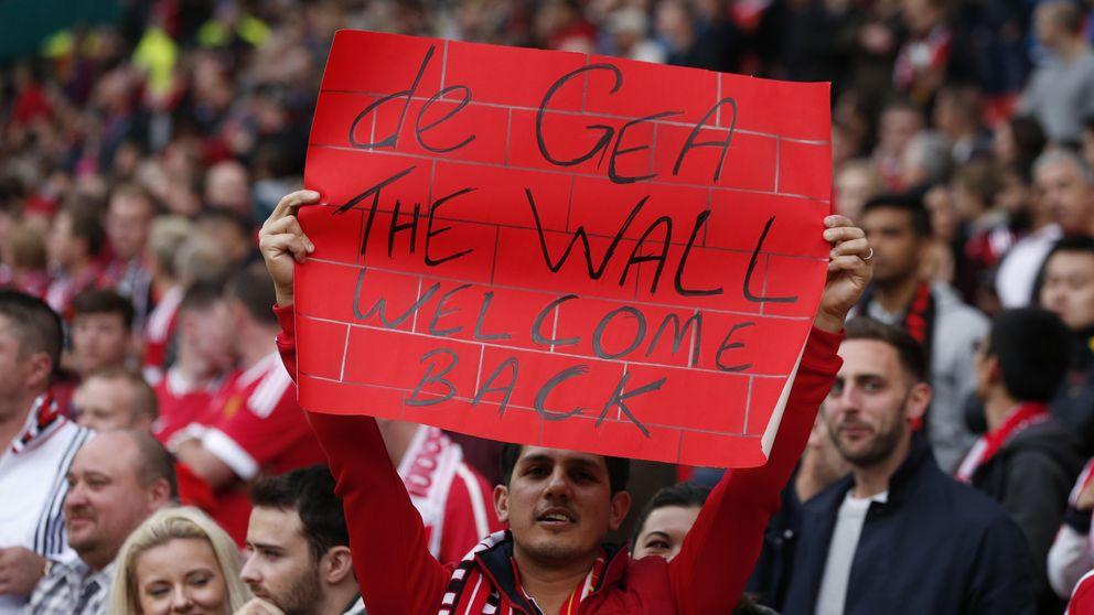 De Gea vuelve a disfrutar con el United en el triunfo ante el Liverpool