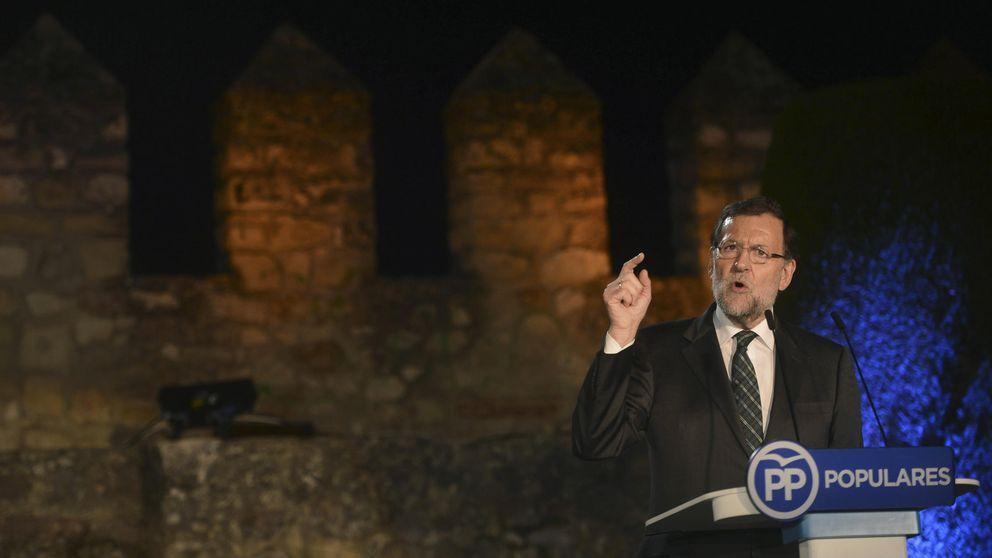"""Rajoy se pone al frente de """"todos los españoles"""" y convierte Cataluña en su oportunidad electoral"""