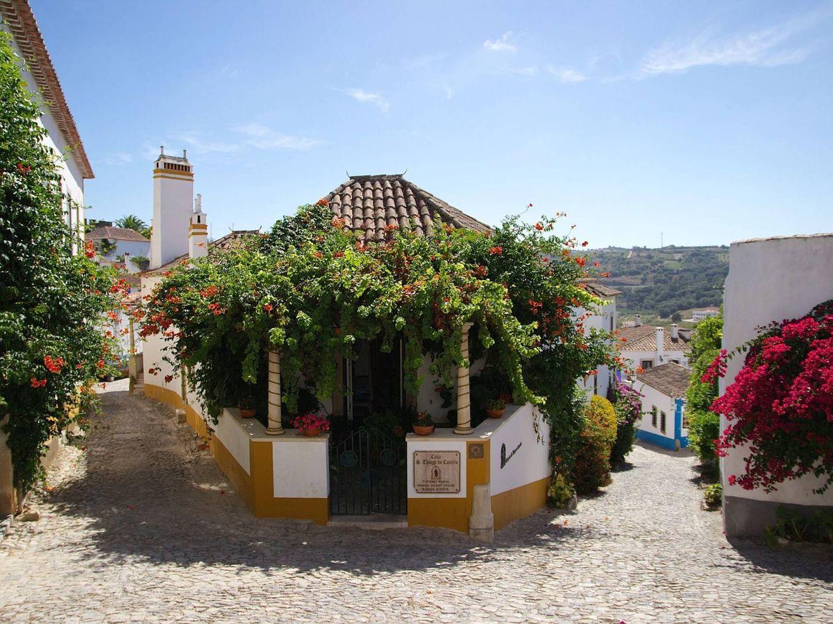 Foto: Óbidos es así de bonito... y lo que no se ve. (Katia de Juan para Unsplash)