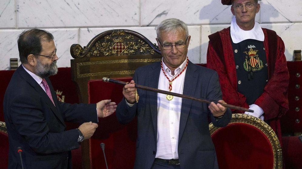 Foto: Joan Ribó, de Compromís, nuevo alcalde de Valencia. (EFE)