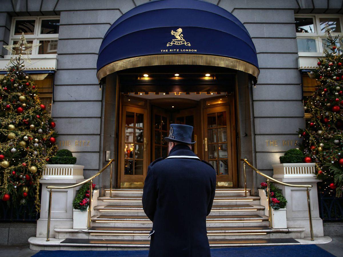 Foto:  El Ritz de Londres. (Getty)