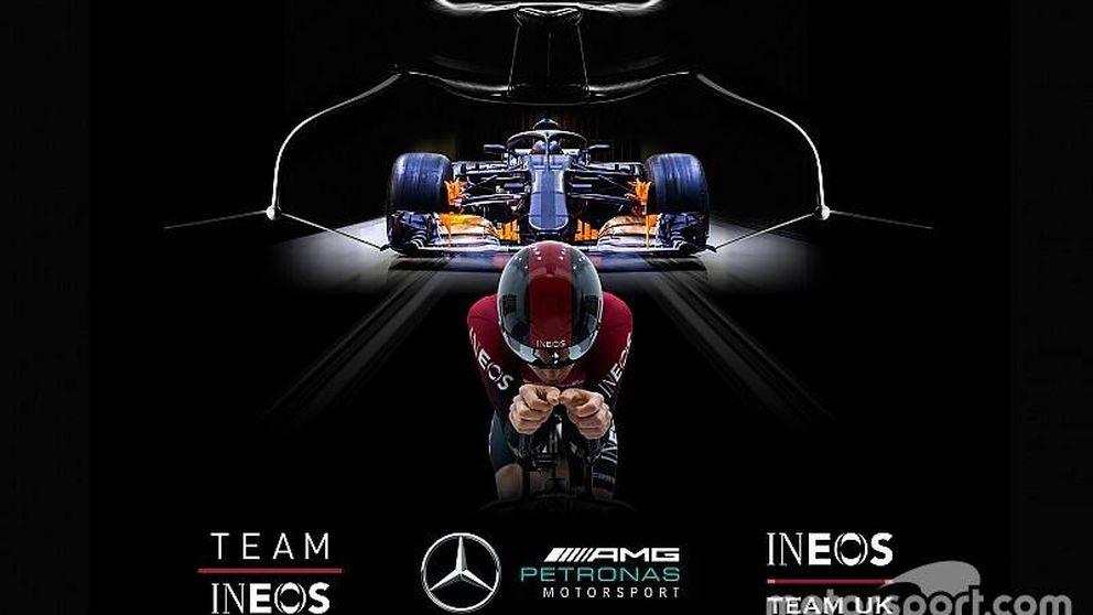 El acuerdo entre Mercedes y Team Ineos: cuando la Fórmula 1 empuja al ciclismo