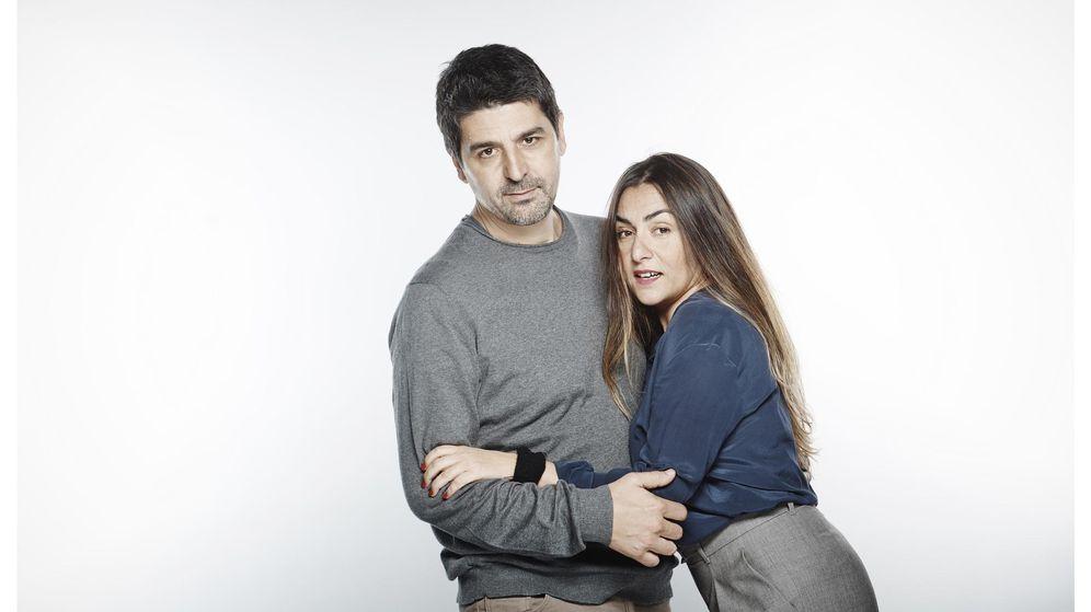 Foto: Cesc Gay y Candela Peña debutan juntos en el teatro (David Ruano)