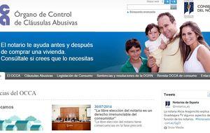 El Notariado abre una web para el control de cláusulas abusivas