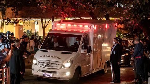 Bolsonaro pasa la noche en una clínica de Sao Paulo con un tratamiento conservador