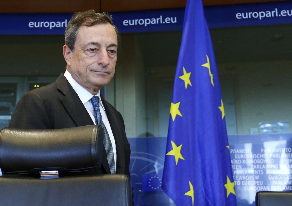 Foto: El presidente del Banco Central Europeo, Mario Draghi (EFE)