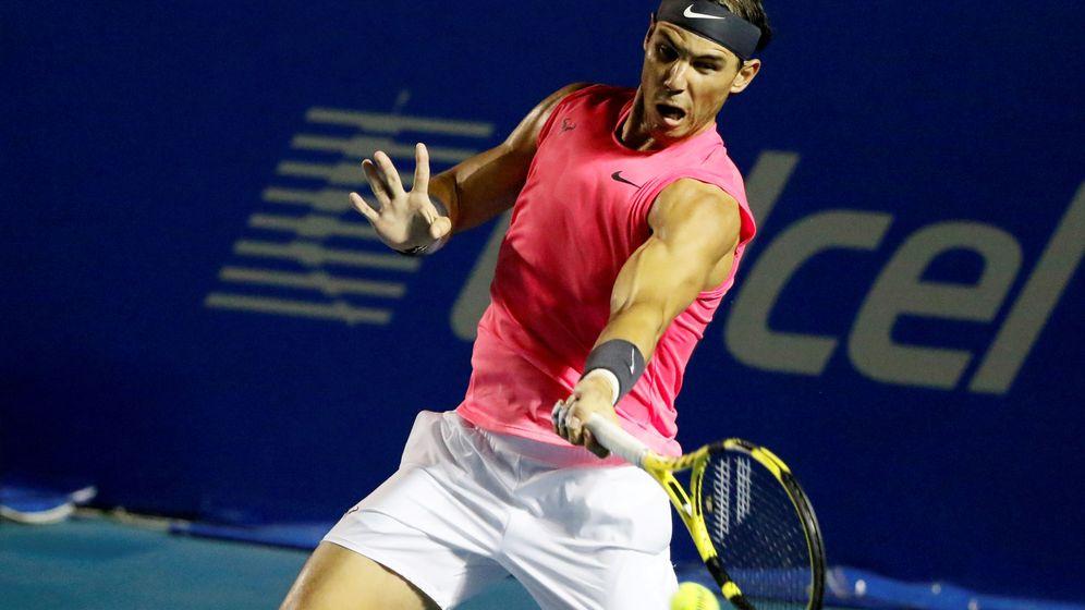 Foto: Rafael Nadal en el Mexican Open (2020). Reuters: Carlos Perez Gallardo