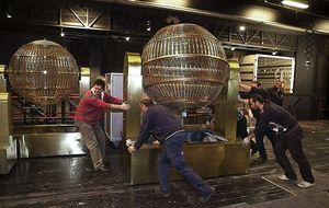 Los bombos del Sorteo de Navidad llegarán el lunes al Teatro Real de Madrid