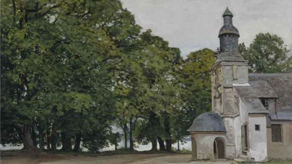 Foto: 'La châpelle de Notre-Dame de Grâce, Honfleur', de Monet