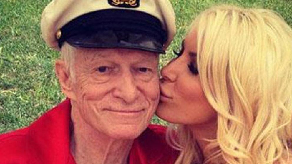 Hugh Hefner se casa con otra 'conejita' Playboy