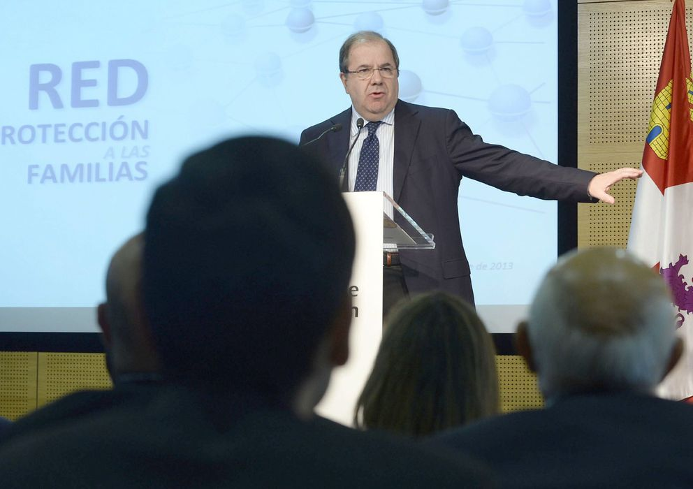 Foto: El presidente de la Junta de Castilla y León, Juan Vicente Herrera. (EFE)