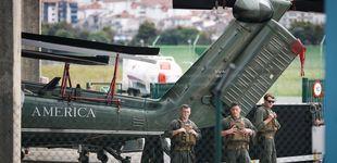 Post de Podemos pregunta por el control al que se sometió al Ejército de Trump durante el G-7