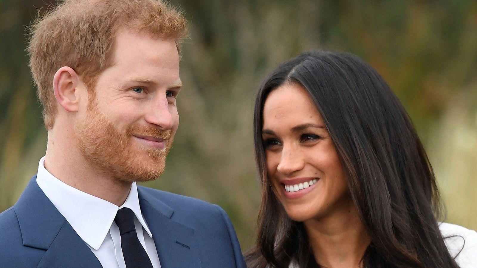 Foto: El príncipe Harry de Inglaterra y Meghan Markle anuncian boda. (Reuters)