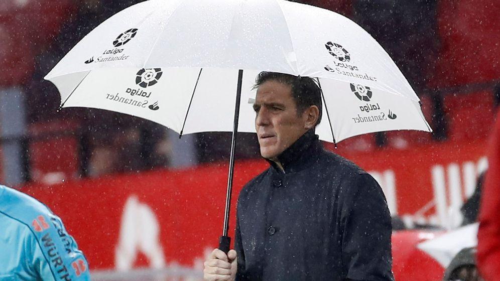Foto: Berizzo durante un partido de Liga. (EFE)