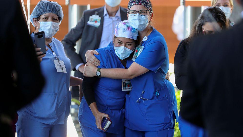 Foto: Un CDO contra el covid-19. (Reuters)