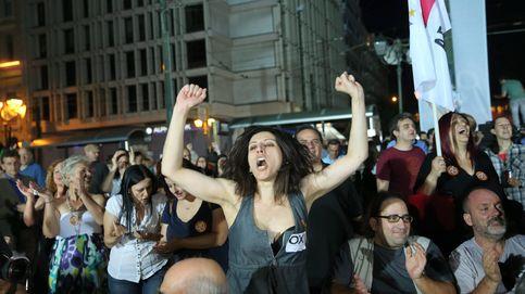 Reacciones tras el cierre de urnas del referéndum griego