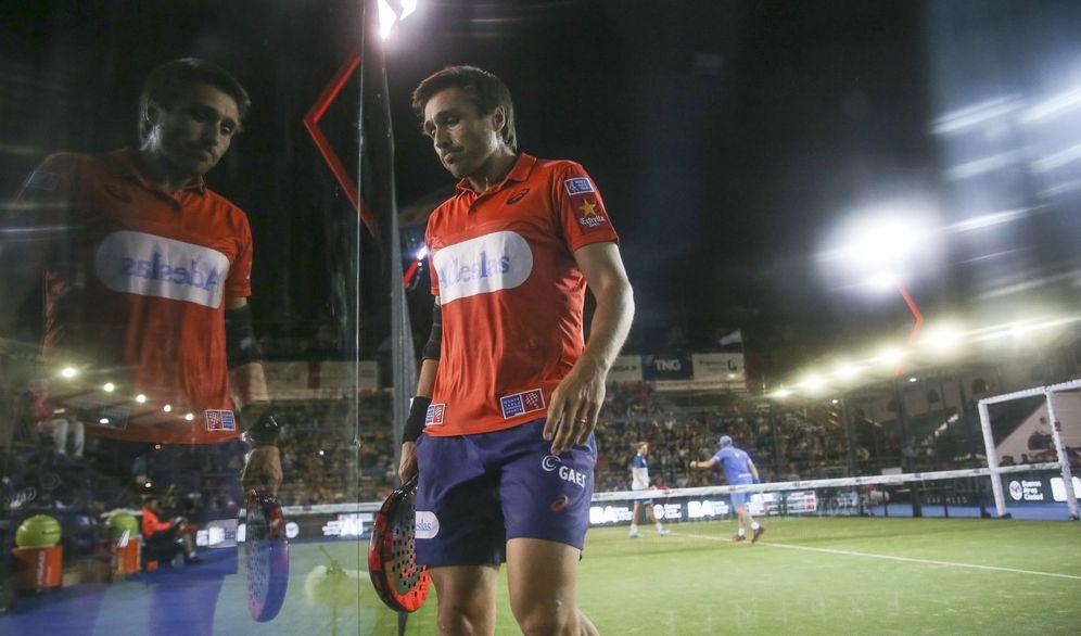 Foto: Belasteguín y Lima sellaron un debut triunfal en Buenos Aires. (EFE)