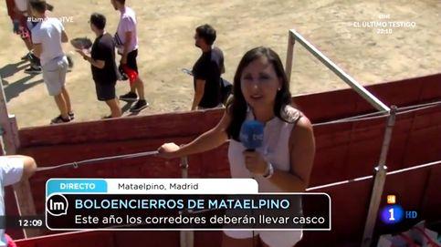 Una reportera de 'La mañana de La 1' regaña a un reportero de Telemadrid