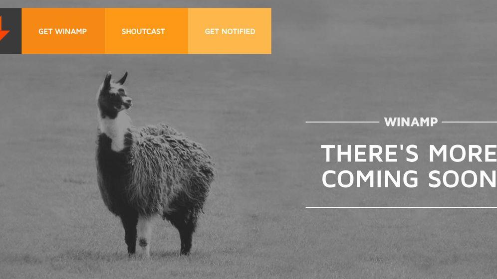 Foto: Winamp anuncia su regreso a la primera plana con su mítica llama
