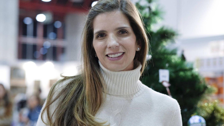 La melena de Margarita Vargas en el rastrillo Nuevo Futuro. (Cordon Press)