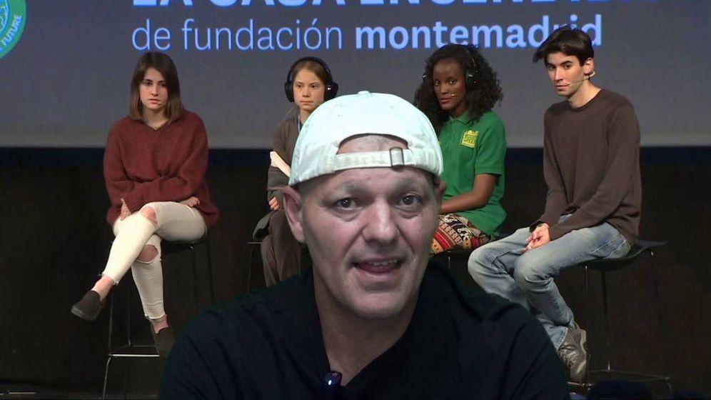 Foto: Frank Cuesta hablando desde su canal en Youtube.