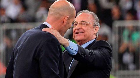 La prima del Real Madrid por la Supercopa de España y el abrazo de Florentino a Zidane