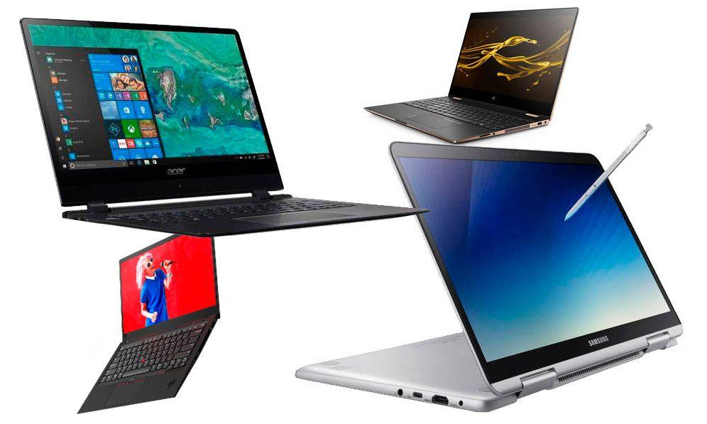 Foto: Algunos de los portátiles que pueden interesarte.