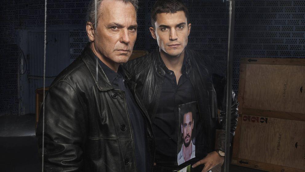 Álex González y José Coronado, juntos tras 'El Príncipe' en la 'Narcos' de T5