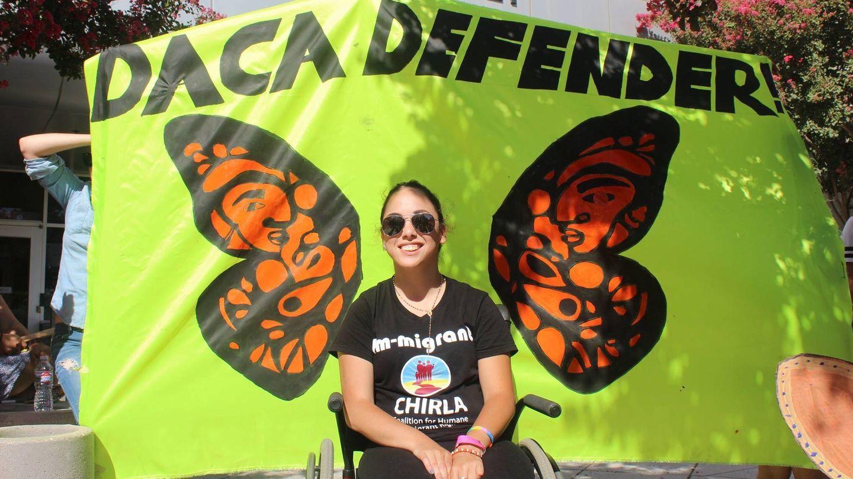 Paulina Ruiz perderá la cobertura médica si se elimina el DACA. (E. Catalán)