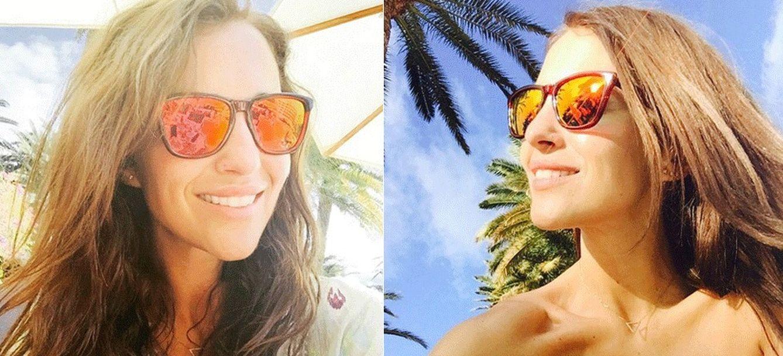 Foto: Paula Echevarría durante sus vacaciones en Canarias (Instagram)