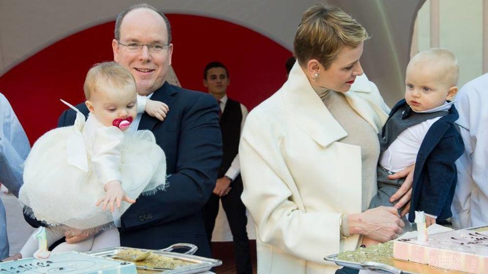 Así celebraron su primer cumpleaños los príncipes Jacques y Gabriella de Mónaco