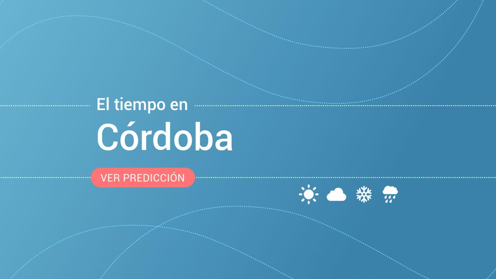 Foto: El tiempo en Córdoba. (EC)