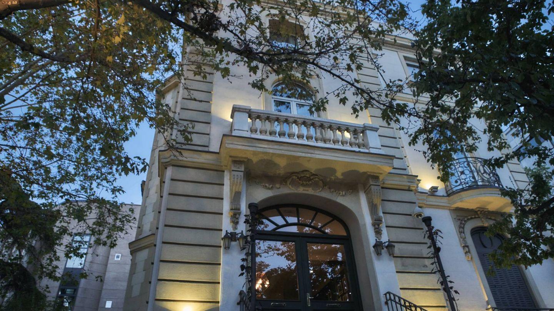 Un palacete del noble Madrid con restaurante dentro