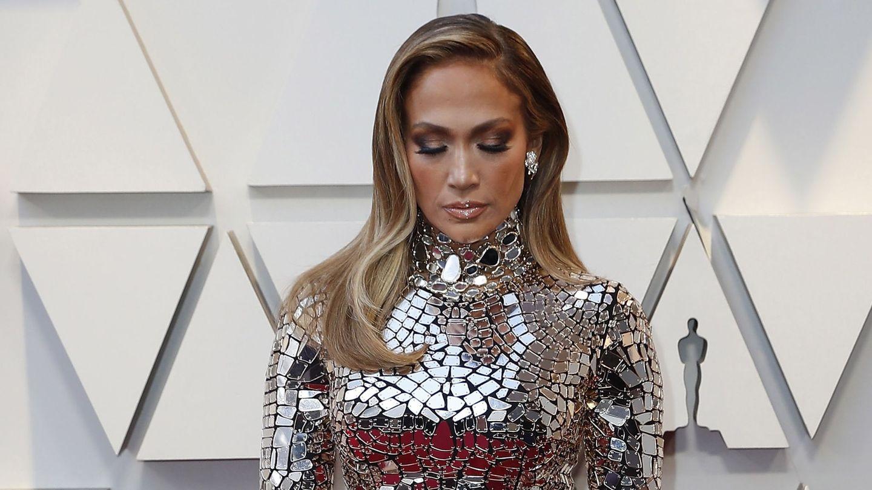 Jennifer Lopez, en los Oscar de 2019. (EFE)