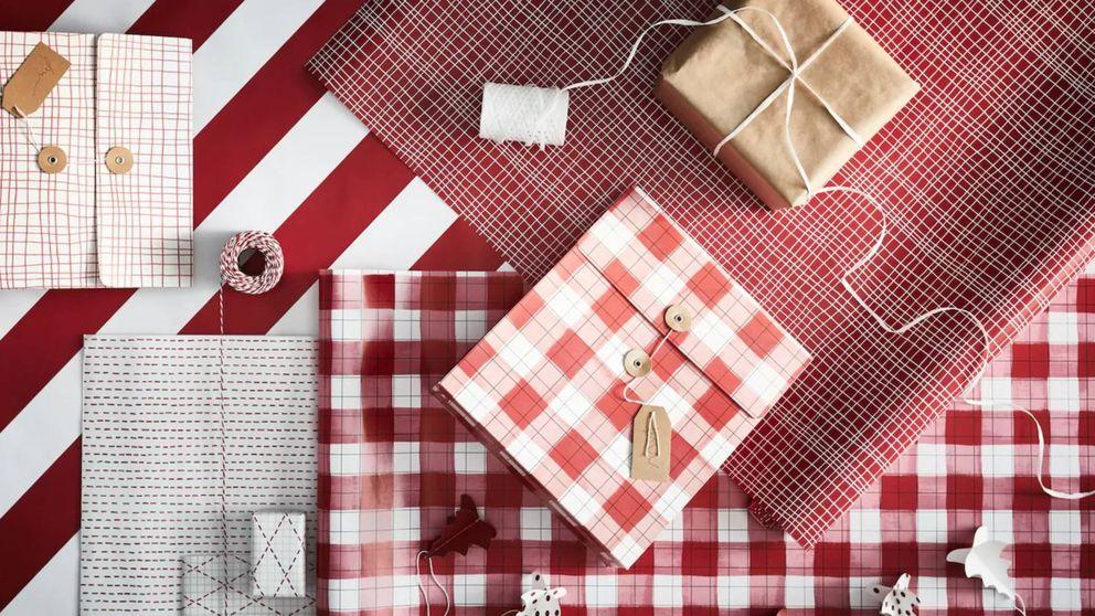 Las claves de Ikea para envolver los regalos de Navidad de forma fácil y original